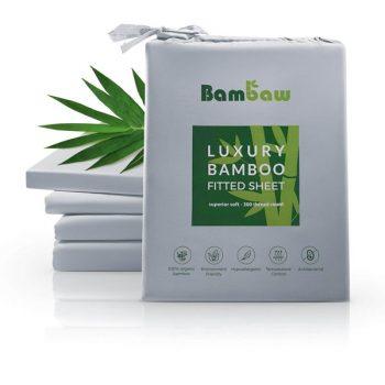 Spannbettlaken aus Bambuswolle