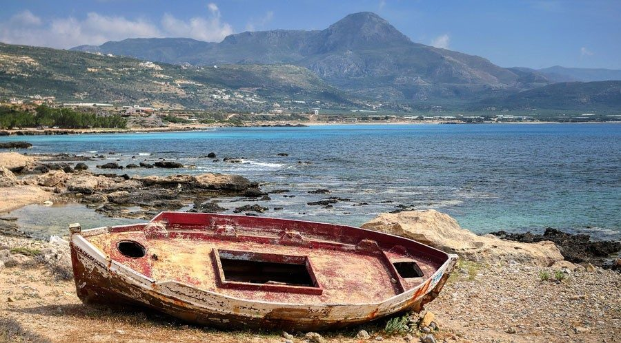 ABfälle im Mittelmeer