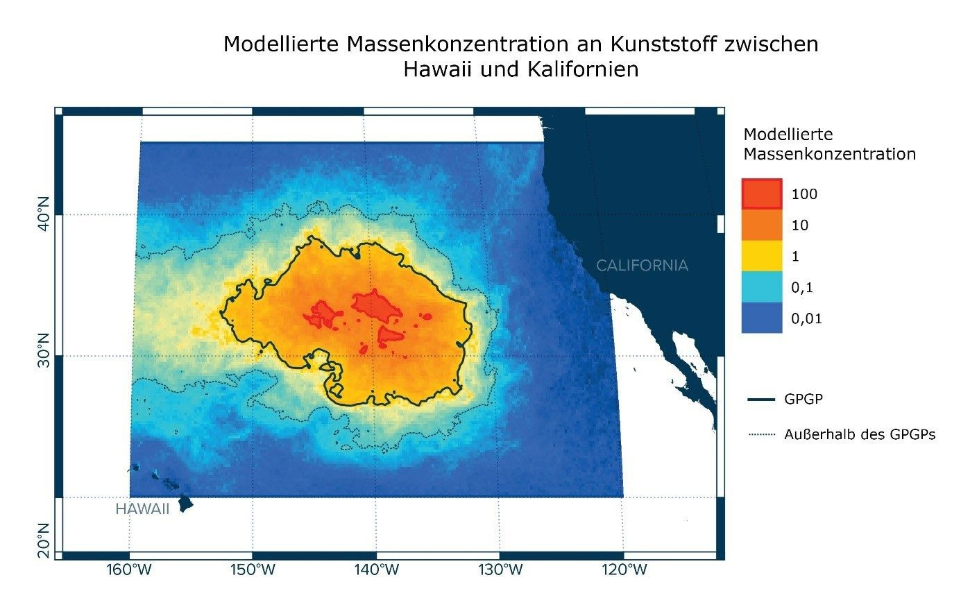 Groesste Plastikinsel im Meer