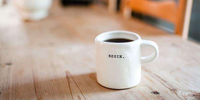 nachhaltigkeit im buero durch kalten kaffee