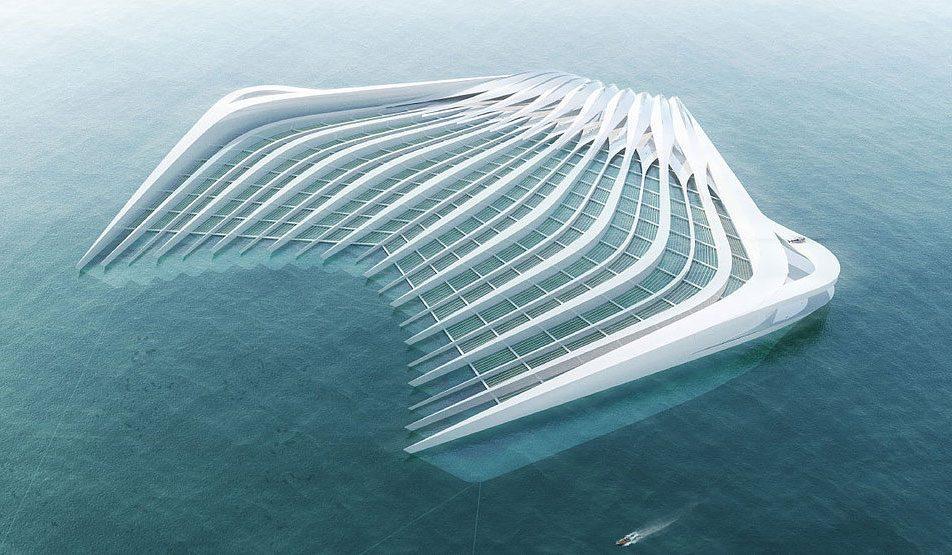 Entfernung von Plastik im Meer projekt