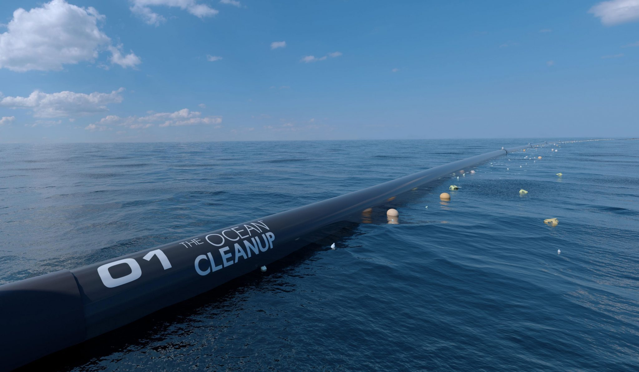 plastik aus Meer entfernen ocean cleanup