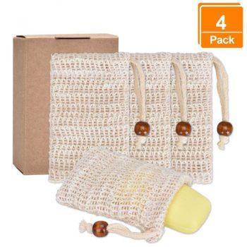 4 Seifensäckchen