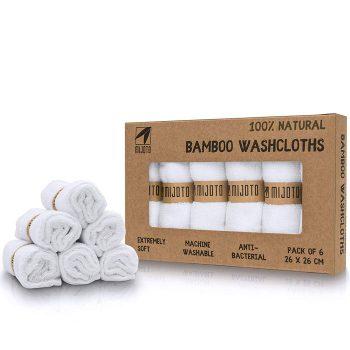 6 Reinigungstücher aus Bambuswolle