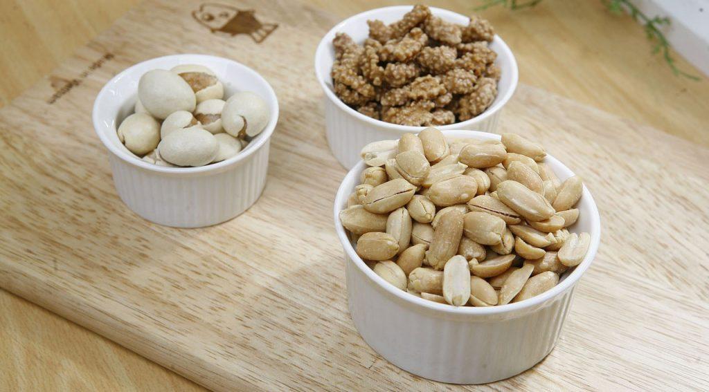 nuesse als gesunder snack