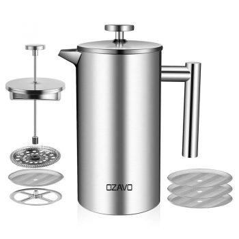 Zerowaste Frenchpress Kaffemaschine